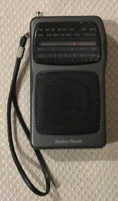 VTG Radio Shack 12-617 AM/FM/TV  Radio Tested works in great overall condition