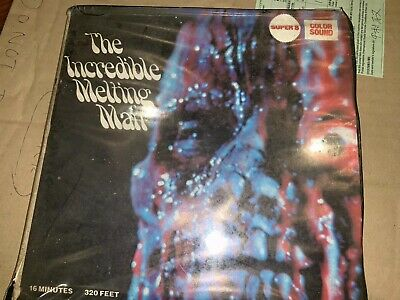 Super-8 Color Sound 400' THE INCREDIBLE MELTING MAN - Excellent cond. 1977. Rare