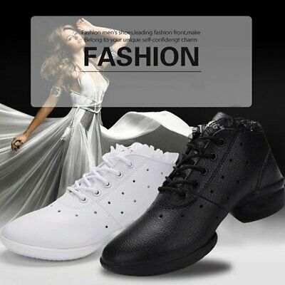 Soft Sole Dancing Shoes Breathable Square Dance Shoes Sports Gymnastics Shoes xt