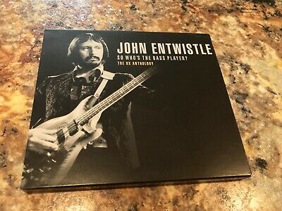 John Entwistle ‎So Who's The Bass Player? The Ox Anthology 2 CD Sanctuary Who