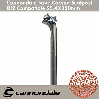 cb2b87e209b Cannondale Save Carbon Di2 Compatible 15mm Offset 25.4x350mm Seatpost Road  Bike