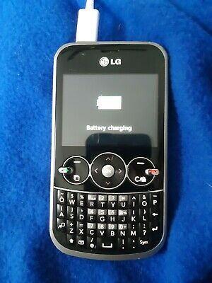 LG 430G BLACK (Tracfone) Flip Phone Good Condition Good IMEI
