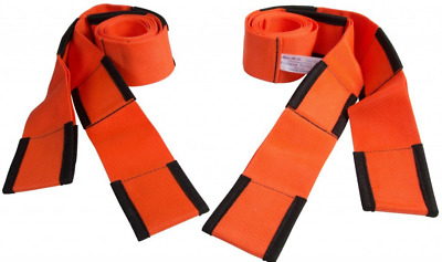 Safe Secure Carrying Heavy Forearm Wrist Forklift Lifting Moving Belt Straps