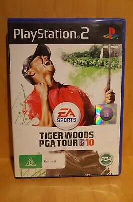 SONY PLAYSTATION 2 Tiger Woods PGA Tour 10 game Free Postage