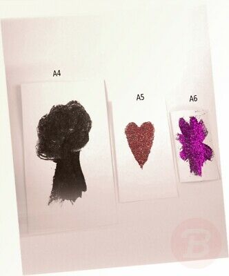 A6 White Card Postcard Blank Card Art Crafting Thick Card 50 Sheets ...