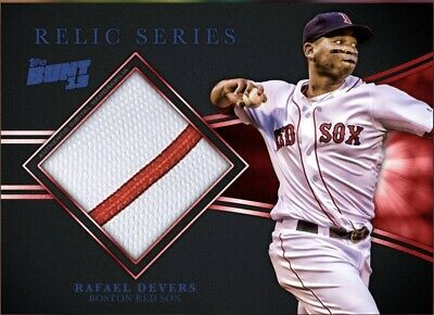 Topps Bunt Rafael Devers Base Relic Series Marathon Rare Digital Insert