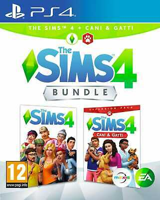 electronic arts The Sims 4 + Cani e Gatti Videogioco per PS4 PlayStation 4 PEGI