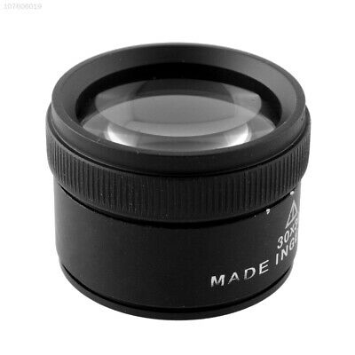 2D91 New 30x Optics Loupes Magnifier Glass Lens Loop For Jeweler Stamps Jewelry