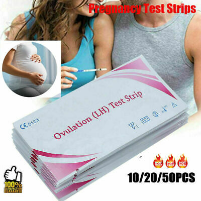 10/20/50 Ovulation and Pregnancy Test Strips Home Urine Tests - U Decide
