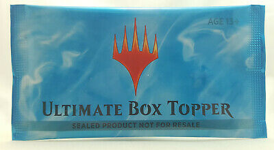 Ultimate Masters Box Topper Factory Sealed Booster Pack MTG Magic WOTC TCG CCG