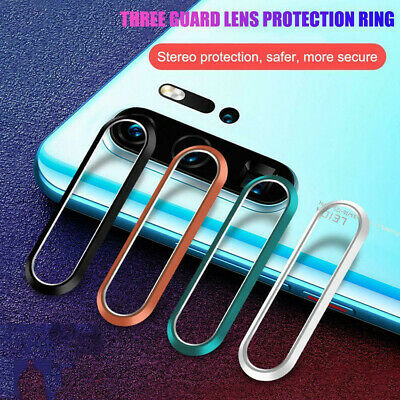 For Huawei P30 20 Pro Back Rear Camera lens Protective Ring Tempered Glass Film