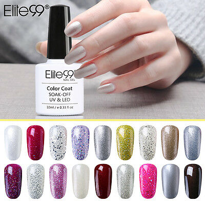 Elite99 Soak Off Esmaltes Semipermanente de Uñas Base Top Coat 10ML DIY Manicura