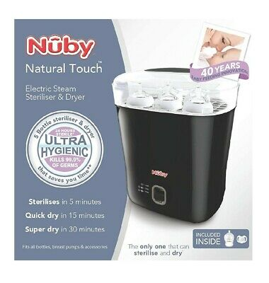 Nuby Natural Touch Steriliser And Dryer, BRAND NEW. RRP £70