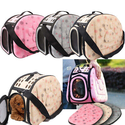 Pet Cat Dog Folding Puppy Carrier Travel Bag Space Capsule Backpack Breathable