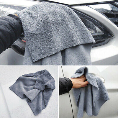 Microfiber Towel Car Cleaning Wash Drying Detailing Cloth No Scratch 40 X 40cm