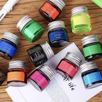 20ml Colorful Ink Fountain Pen Ink Art Making Dip Pen Ink Drawing Mini Portable