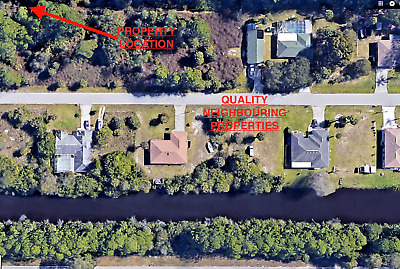 Port Charlotte Florida, Fabulous Homesite Lot, No Reserve