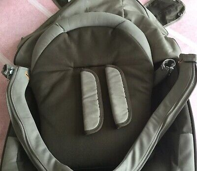 Stokke Brown Textiles Seat ,Back Panel ,Bumper & Back Bar Cover + Cube Style Kit