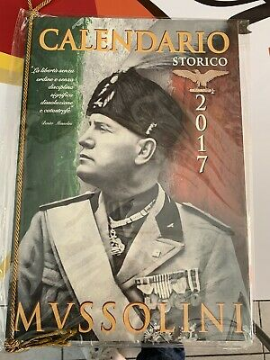 Calendario Mussolini 2020.Lotto Calendari Mussolini 2016 17 2019 2020 Eur 45 00