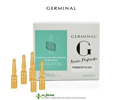 GERMINAL ACCION PROFUNDA AMPOLLAS ACIDO HIALURONICO 5x1ML AMPOULES HYALURONIC