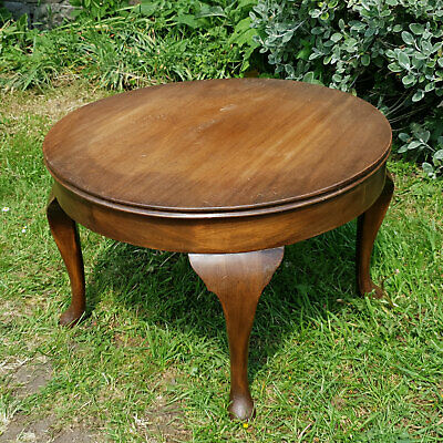 Queen Anne Style Mahogany Coffee Table - Edwardian Early C20th