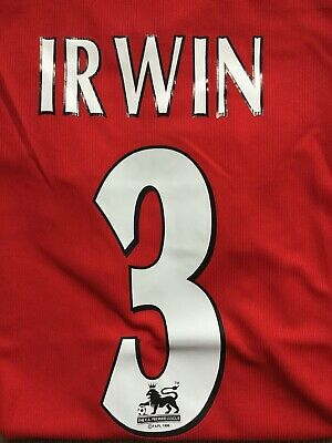 MANCHESTER UNITED SHIRT 1999 IRWIN 3 Large Jersey MAN UTD RETRO Remake 1998 U L