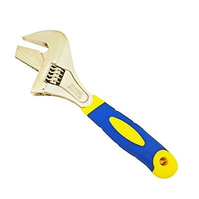 2 In 1 Extra Wide Jaw Adjustable Wrench Pipe Spanner Small Dual Function New