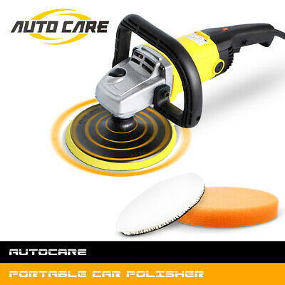 "Autocare 1200W Car Polisher 7"" Waxer Machine Sander Electric Floor Polisher"