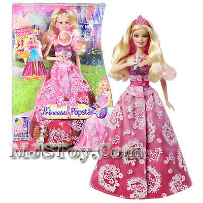 The Princess & The Popstar Singing Doll - Barbie