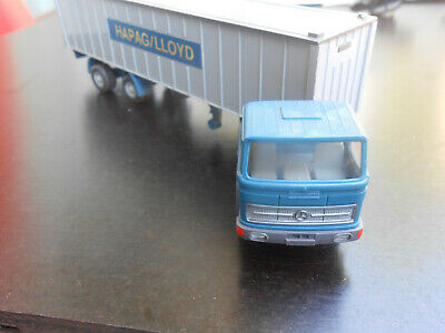 Mercedes-Benz LPS 1620 Containersattelzug 40 ft., MJ 1970