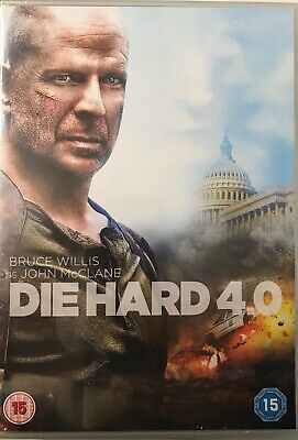 Die Hard 4 Movie Collection (4xDVD) New, Sealed, Free UKP&P-- Slim Cases