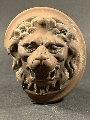 Amazing Ancient Roman Bronze Lion Casket Mount - Fine Detail - Circa 100-200Ad