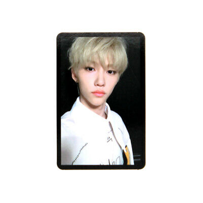 [STRAY KIDS]Cle 2:Yellow Wood/Side Effects/Official Photocard-BLACK/FELIX