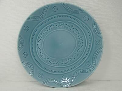 Threshold Ashwood Blue Stoneware 11 Inch Dinner Plate Target Home