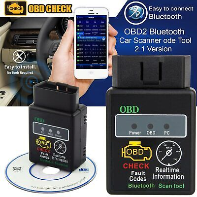 Advanced Bluetooth HH OBD2 Car Scanner ELM327 Android Torque Diagnostic Tool