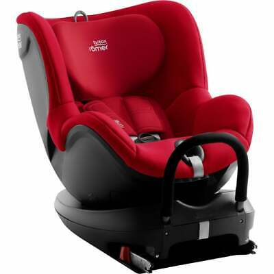 Britax Dualfix 2 R Group 0+ / 1 Car Seat - Fire Red