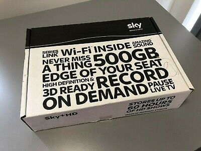 Brand New SKY PLUS HD Box 500GB with built in WiFi, On Demand & 3D. DRX890W
