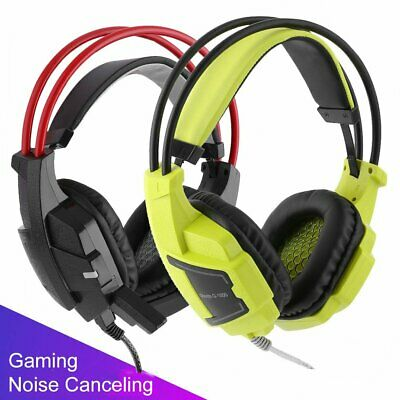 Stereo Bass Surround Gaming Headset for PS4 New Xbox One PC w/ Mic-Robot Series