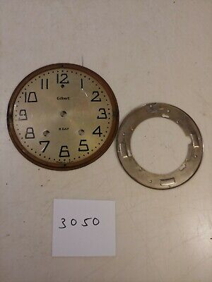 Antique Gilbert  Mantle Clock Dial & Bracket
