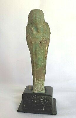Ancient Egyptian Statuette of a  Pharaoh Mummy