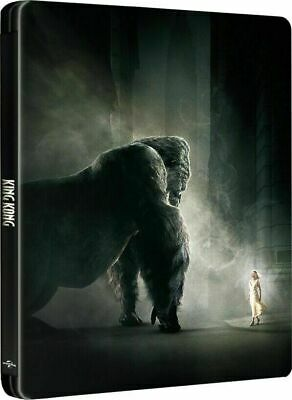 King Kong - Limited Edition Steelbook [4K+ Blu-ray ] NEW And Sealed!!!