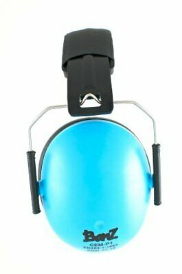 Baby Banz earBanZ Kids Hearing Protection, Blue, 2 -10 YEARS