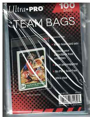 Ultra Pro Team Bags Sleeves 2 Packs of 100