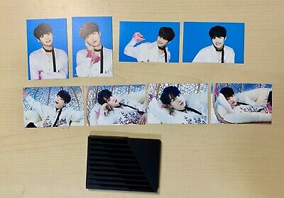 BTS The Wings Tour Concert Official Mini Photo Card Photocard Suga SET VER 2