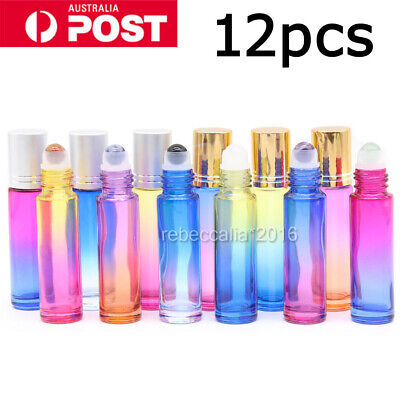 10ml Thick Essential Oil Roller Bottles Glass Funnels Dropper Opener Tools Gift