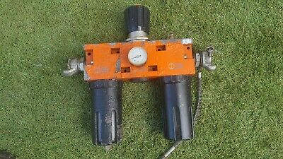 PNUEMATIC INLINE AIR TOOL LUBRICATOR compressor oiler