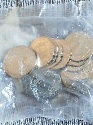 New sealed bag of 20 Sherlock Holmes 2019 50p Fifty Pence Coin Rare