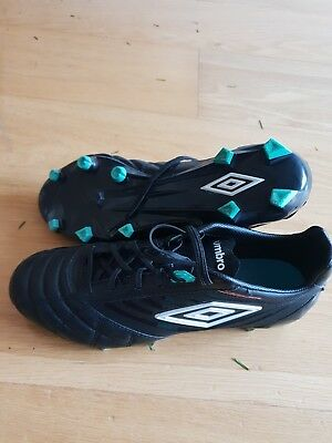 122fd78b451 Umbro Medusae Pro HG Football Boots Molds Cleats 8-8.5UK Rare Black £150