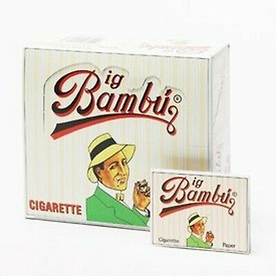 Big Bambu Classic Cigarette Rolling Papers! - 50 Packs!