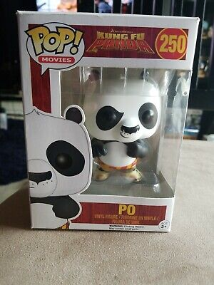 Pop! Funko - Movies Kung Fu Panda - Po #250 - New in Box Vinyl Figure Figurine